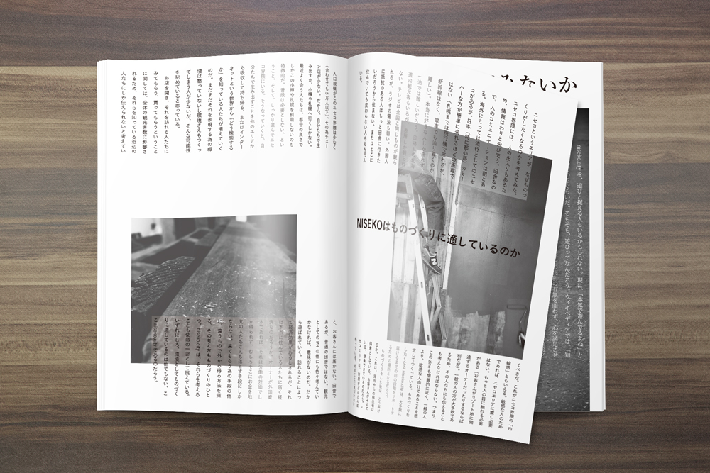 niseko.city.zine July inside
